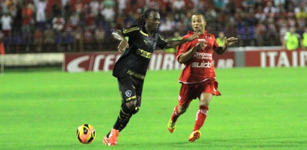 Andrezinho marcou o segundo gol do Botafogo e aliviou equipe na Copa do Brasil - Ailton Cruz/VIPCOMM