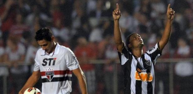 Ronaldinho foi um dos protagonistas da última classificação do Atlético-MG para as quartas de final da Libertadores