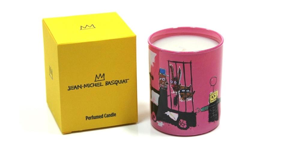 Assinado por Jean-Michel Basquiat, a vela decorativa possui suporte em porcelana francesa e está disponível nas cores branca, azul e rosa. Cada item custa R$ 198 na Sergio K Home (www.sergiok.com.br) I Preços pesquisados em abril de 2013 e sujeitos a alterações