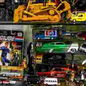 Vitrine da loja 12 da Galeria Itapetininga, em São Paulo - Leandro Moraes/UOL