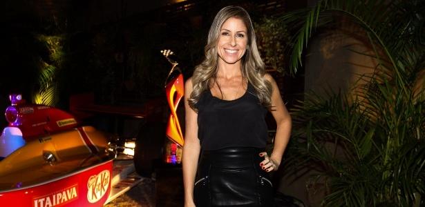 2.mai.2013 - Patrícia Maldonado em jantar da Band no restaurante Pobre Juan, localizado no bairro de Higienópolis, em São Paulo