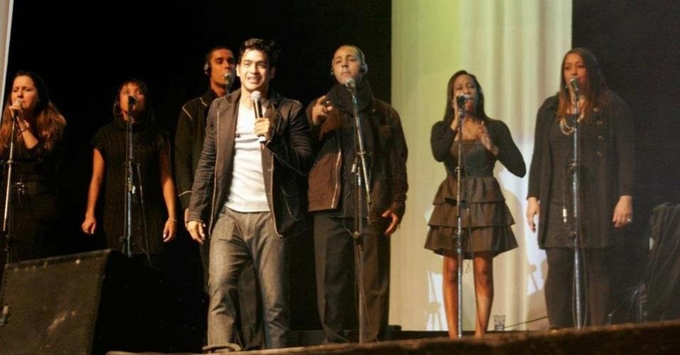 Allyson Castro publicou uma foto de um de seus shows no Facebook