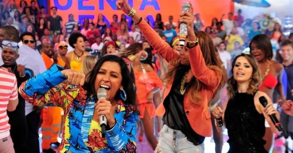 """MC Beyonce diz que se tornou mais conhecida após aparecer no programa de Regina Casé, """"Esquenta"""", na Globo"""