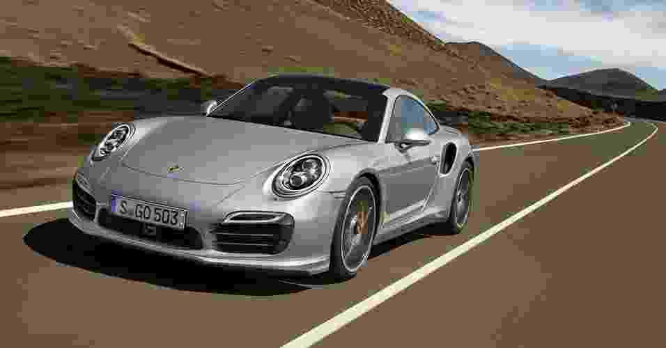 Porsche 911 Turbo S - Divulgação