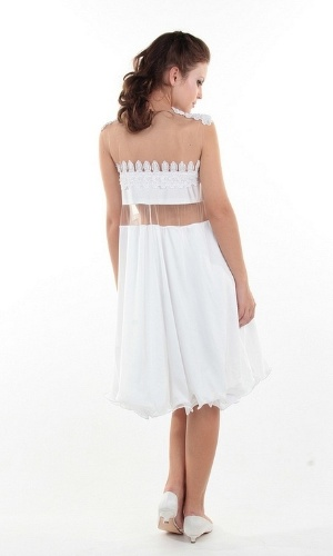 Vestidos de noiva para veganas criados pela estilista paulista Renata Buzzo