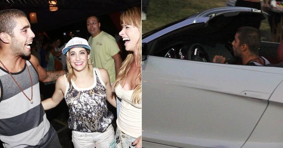 4.mai.2013 - Marido de Luana Piovani vai a evento de música sem a atriz