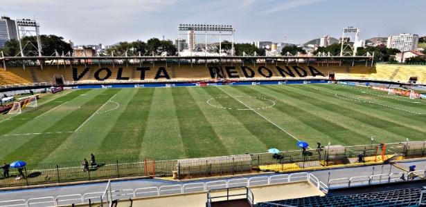 Raulino de Oliveira, em Volta Redonda, receberá jogos contra Atlético-PR e Cruzeiro