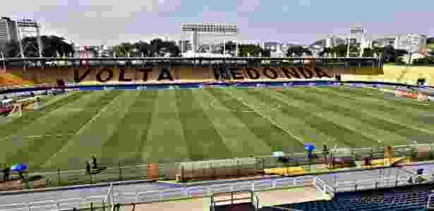 Raulino de Oliveira, em Volta Redonda, terá jogos do Vasco contra Atlético-PR e Cruzeiro - Júlio César Guimarães/UOL