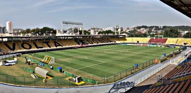 O estádio Raulino de Oliveira deve receber um público reduzido na semifinal