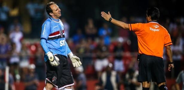 Goleiro e dirigente conversaram para colocar fim às trocas de farpas  - Leandro Moraes/UOL