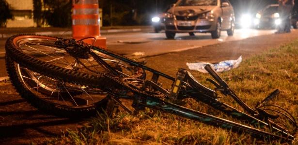 As principais vítimas em rodovias são pedestres (28%) e ciclistas (4%)