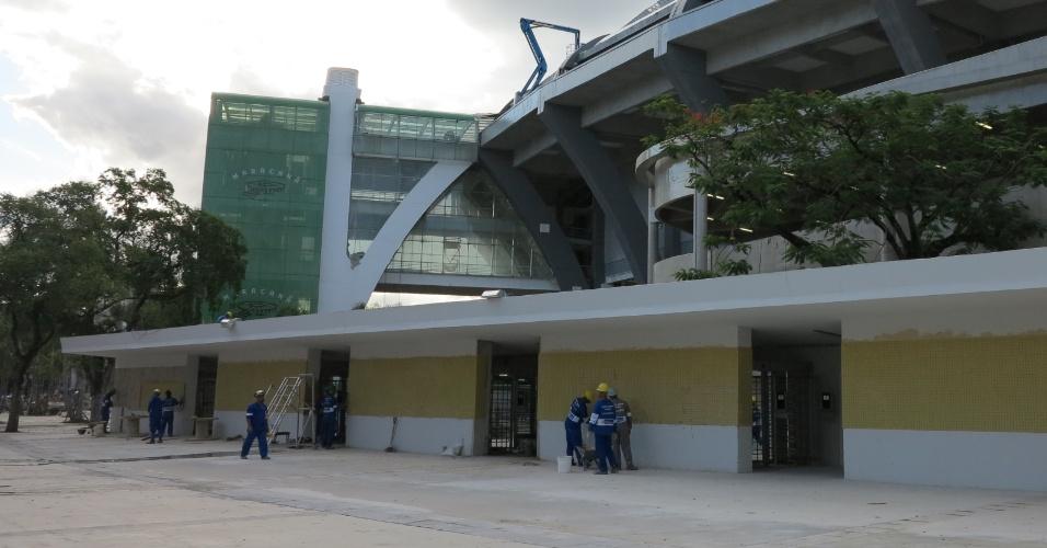 6/5/2013: Obras do Maracanã não acabam estouram todos os limites estipulados pela Fifa