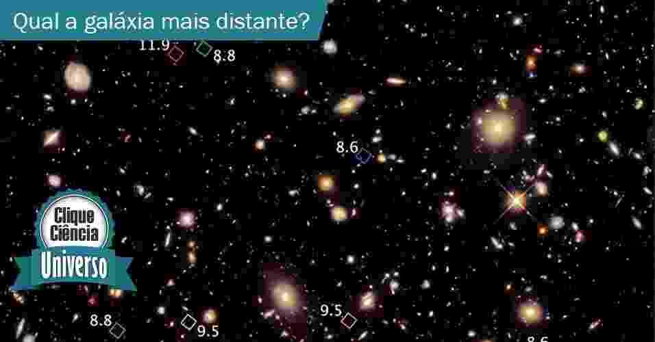 Clique Ciência: Qual é o objeto espacial mais distante já registrado? - Nasa