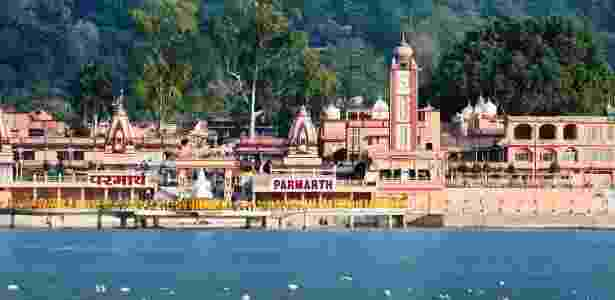 Hospedar-se em um ashram na Índia para praticar meditação é uma das alternativas - Divulgação/Parmath