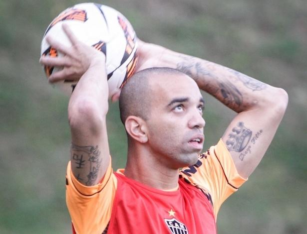 07/05/2013 - Diego Tardelli durante treinamento do Atlético-MG na Cidade do Galo