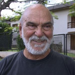 Lima Duarte durante entrevista para a Globo