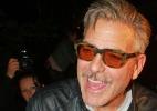 Clooney comemorou 52º aniversário rodeado de amigos na Alemanha - AFP