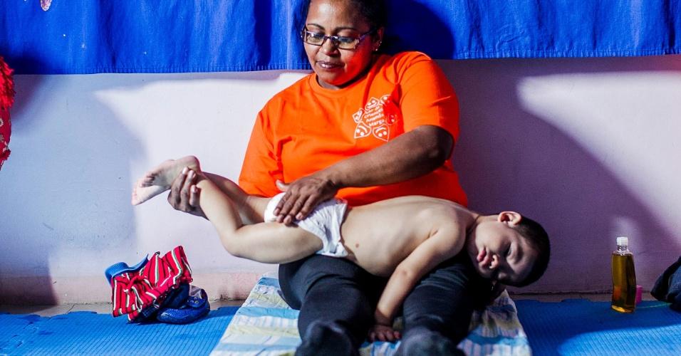 CEI Lar de Crianças Ananda Marga tem shantala na zona norte de SP