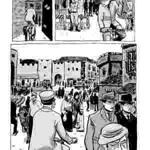 """""""CRÔNICAS DE JERUSALÉM"""" (escrita por Guy Delisle): O jornalista canadense registrou sua vida na cidade sagrada entre agosto de 2008 e julho de 2009, quando sua mulher, a médica Nadège, administrou um hospital da organização Médicos Sem Fronteiras na Faixa de Gaza. A graphic novel foi lançada no Brasil em 2013 - Divulgação"""