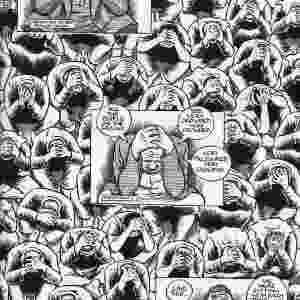 """""""PALESTINA"""" (Joe Sacco): Primeira reportagem criada em quadrinho, a série do jornalista em parceria com a editora Fantagraphics rendeu um prêmio Pulitzer ao autor. No primeiro livro, Sacco narra suas experiências na Faixa de Gaza entre dezembro de 91 e janeiro de 92 - Divulgação"""