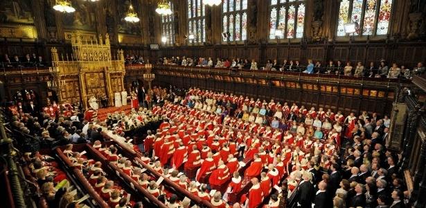 """Jornal """"The Guardian"""" revelou que 2 lojas maçônicas funcionam no Parlamento britânico - Toby Melville/AFP"""