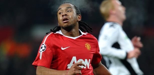 Anderson jogou no Manchester com Cristiano Ronaldo