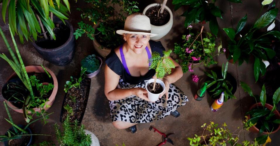 Floricultura British Garden, em Belo Horizonte (MG), da empresária Arlete Dutra, tem hotel e hospital para plantas
