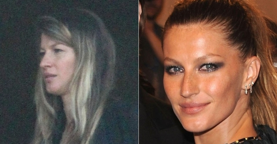Ícone de beleza, Gisele Bundchen não muda muito quando está maquiada