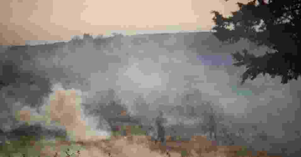 Exército israelense bombardeia a escola onde o lançamento estava sendo feito - Oren Ziv/Activestills.org