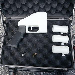 Imagem da arma Liberator, feita em impressora 3D, disponibilizada pelo site Defense Distributed