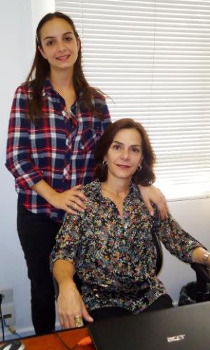 Sarah Lazaretti, fundadora da Alergoshop e a filha Marina