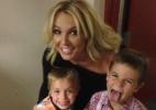 Britney Spears cai em pegadinha armada pelos filhos; assista - Reprodução/Facebook