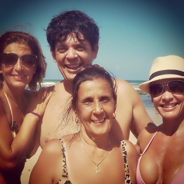 12.mai.2013 - Scheila Carvalho publicou uma foto ao lado da mãe