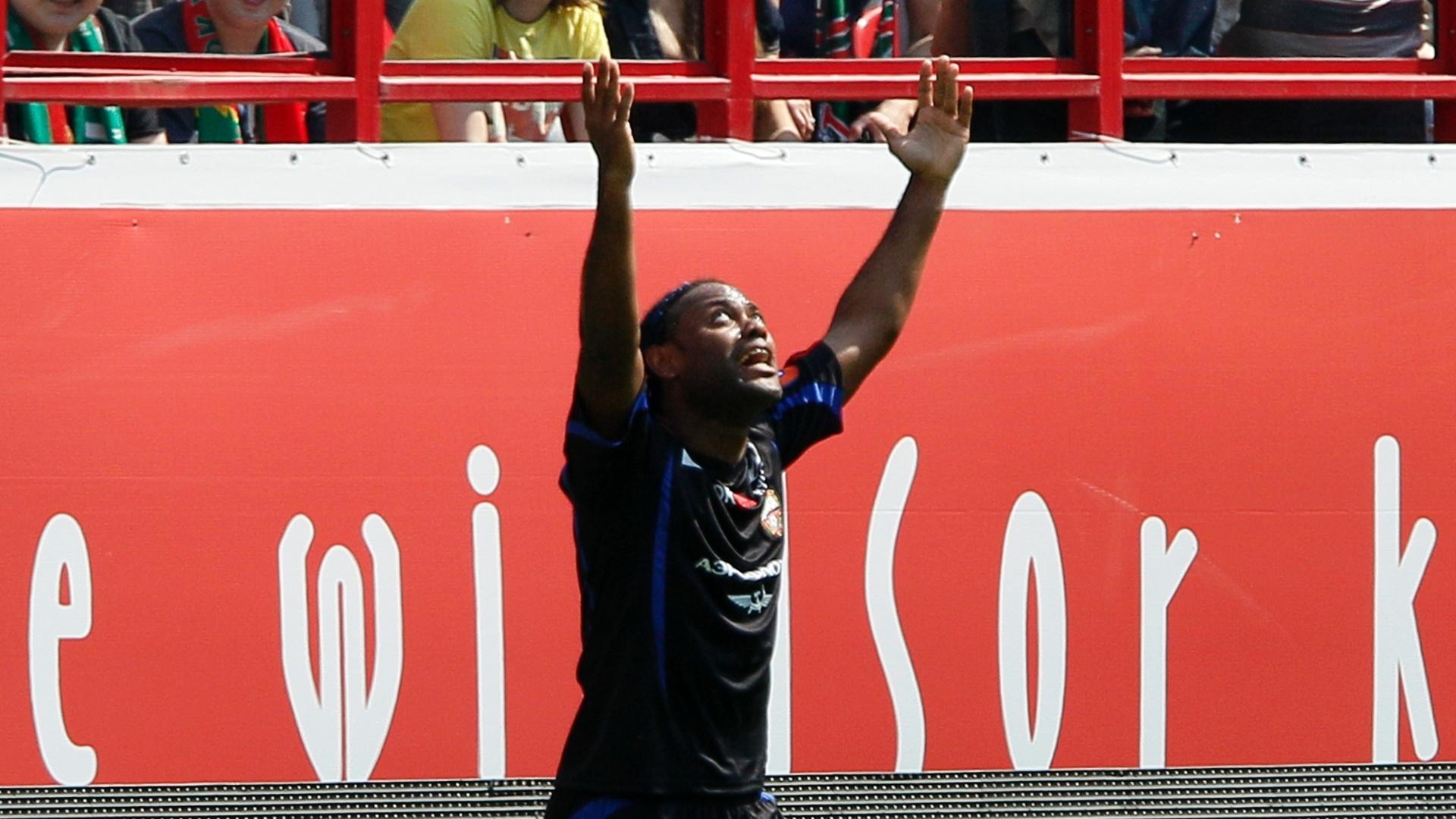 Vágner Love marcou duas vezes na goleada do CSKA contra o Lokomotiv