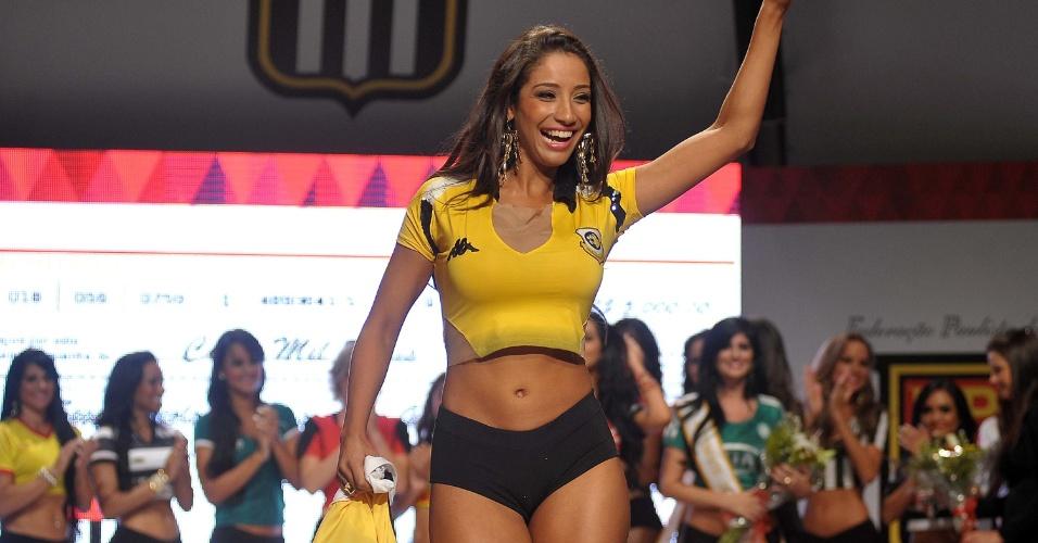 13.05.2013 - Nathália Abreu, do São Bernardo, ficou em segundo
