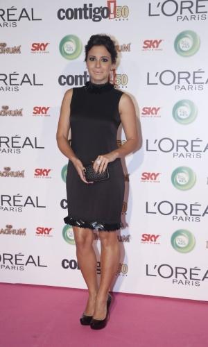 13.mai.2013 - A atriz Juliana Knust chega ao 15º Prêmio Contigo!, no Copacabana Palace, no Rio de Janeiro