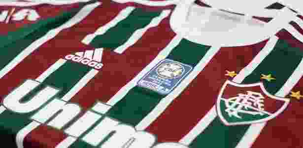 Flu estreará escudo de campeão brasileiro no próximo jogo da Libertadores.  Bruno Haddad Fluminense FC 181991d91b70c