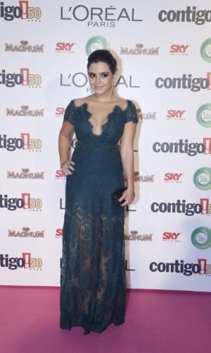 """13.mai.2013 - Destaque em """"Gabriela"""", Giovanna Lancelotti participa do 15º Prêmio Contigo!, no Copacabana Palace, no Rio de Janeiro"""