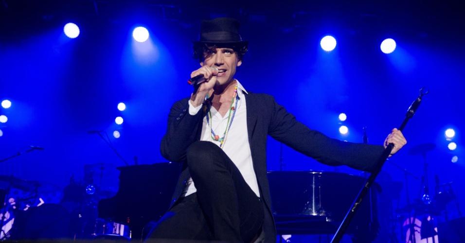 """13.mai.2013 - O cantor Mika confessou ser gay em entrevista à revista norte-americana """"Instinct"""", em 2012. A revelação foi divulgada no próprio site da publicação, voltada ao público homossexual masculino."""
