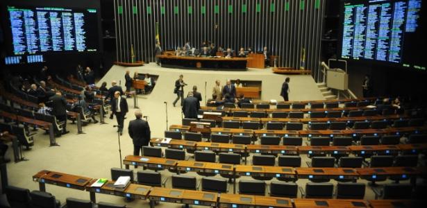 Plenário da Câmara dos Deputados, que deve votar novo Código de Processo Civil nesta semana