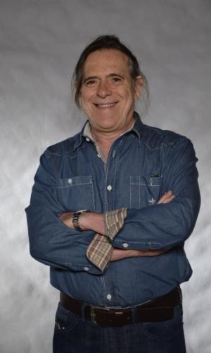 22.nov.2012 - O ator José de Abreu durante gravação de especial da Globo