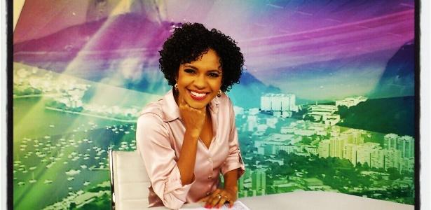 A jornalista Luciana Barreto afirma que foi diversas vezes confundida com maquiadora nos bastidores
