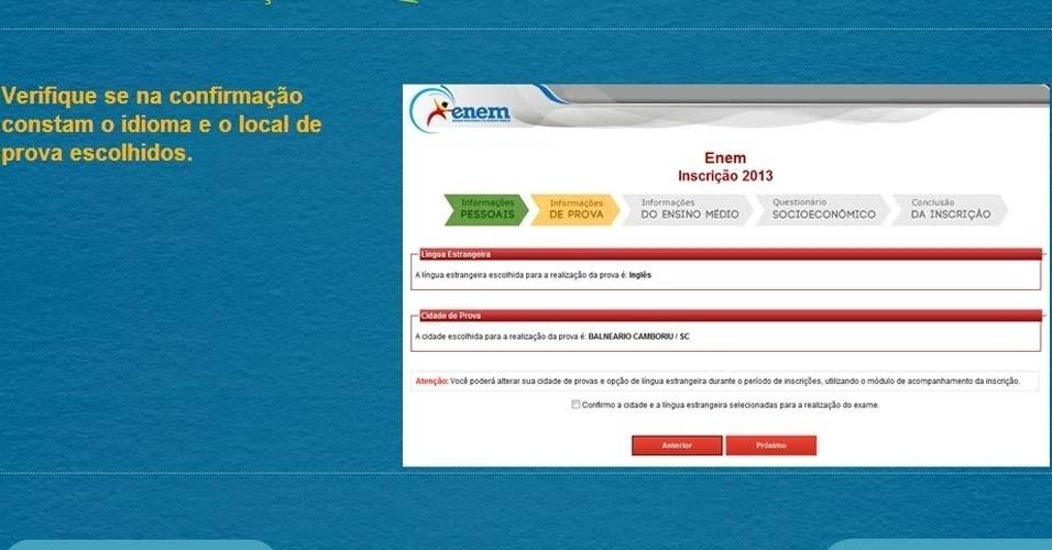 O Inep ( Instituto Nacional de Estudos e Pesquisas Educacionais) divulgou um passo a passo para auxiliar na inscrição do Enem (Exame Nacional do Ensino Médio) 2013