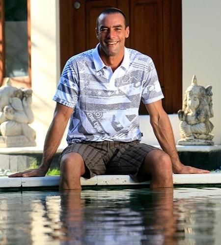 Paulo Zulu, 49 anos, modelo e ator