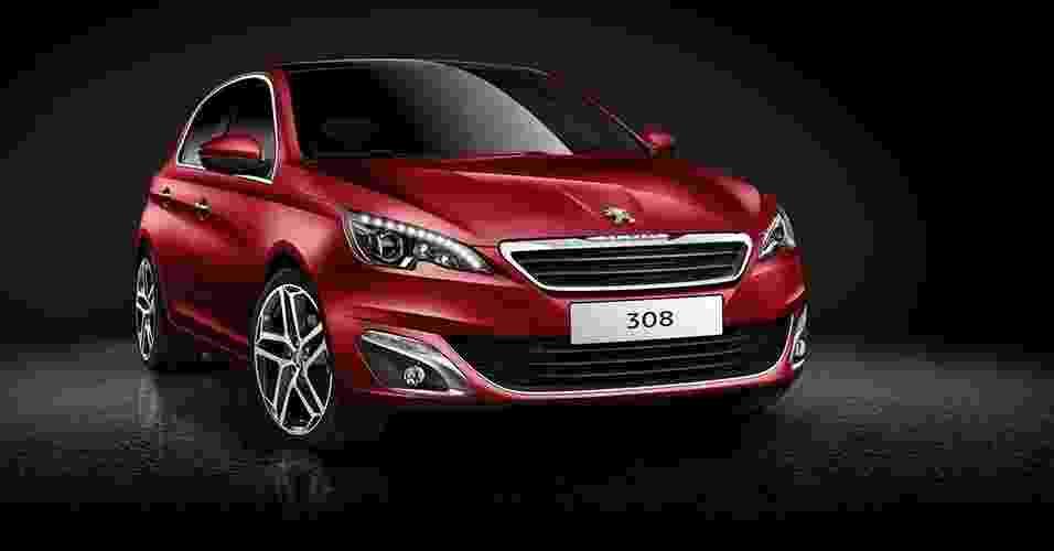 Peugeot 308 2014 - Divulgação