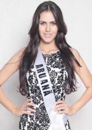 Sileimã Alves Pinheiro, recém-eleita Miss Goiás 2013