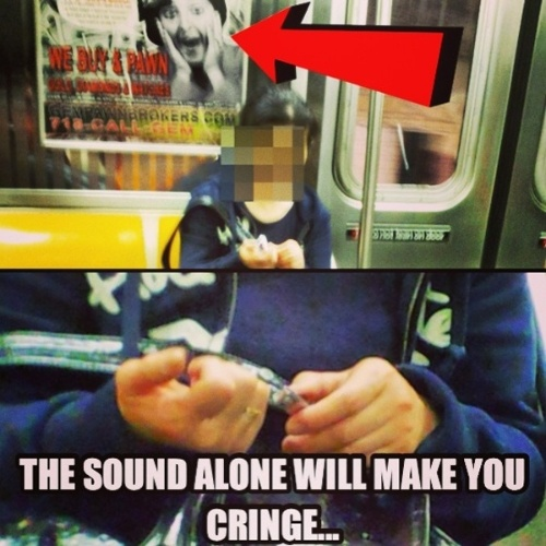 Situações inusitadas no metrô