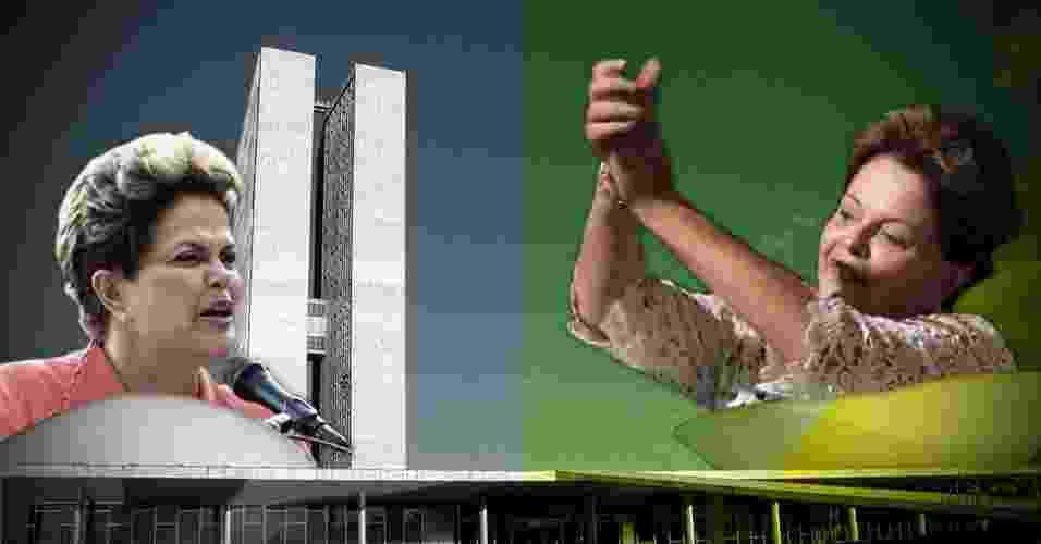 14.mai.2013 - Depois de seguidas derrotas no Congresso Nacional, a presidente Dilma Rousseff vem sofrendo pressão para substituir sua equipe de negociação com o Legislativo. Cinco das últimas dez propostas encaminhadas pelo governo ao Parlamento foram rejeitadas. No caso mais recente, o da MP dos Portos, que veio sofrendo obstrução em plenário apesar das negociações com líderes de partidos, a medida, após aprovação na Câmara, pode perder a validade caso não seja votada até a meia-noite desta quinta-feira (16) pelo Senado - Arte/UOL