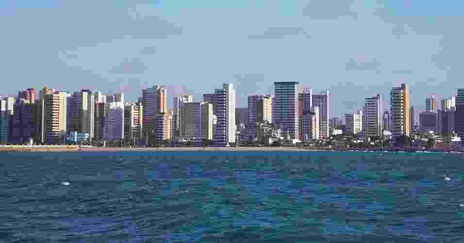 A principal região hoteleira da capital cearense é a da Avenida Beira Mar (5 km do centro e 10 km da Arena), que concentra os principais atrativos turísticos da cidade e é bem servida de infraestrutura de comércio, restaurantes, bares e serviços - Renata Gama/UOL