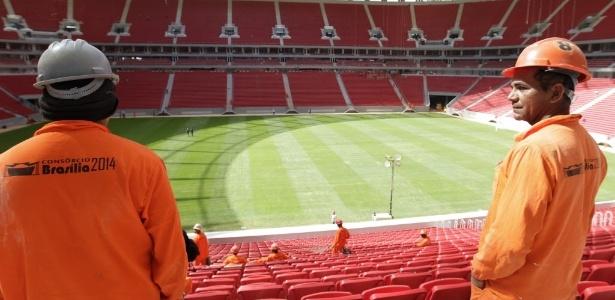 Reformado para a Copa, estádiode Brasília será palco de Fla x Santos no Brasileiro